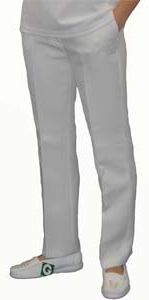 Bowls Trousers - White Ladies Trousers