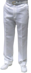 Mens White Bolws Trousers