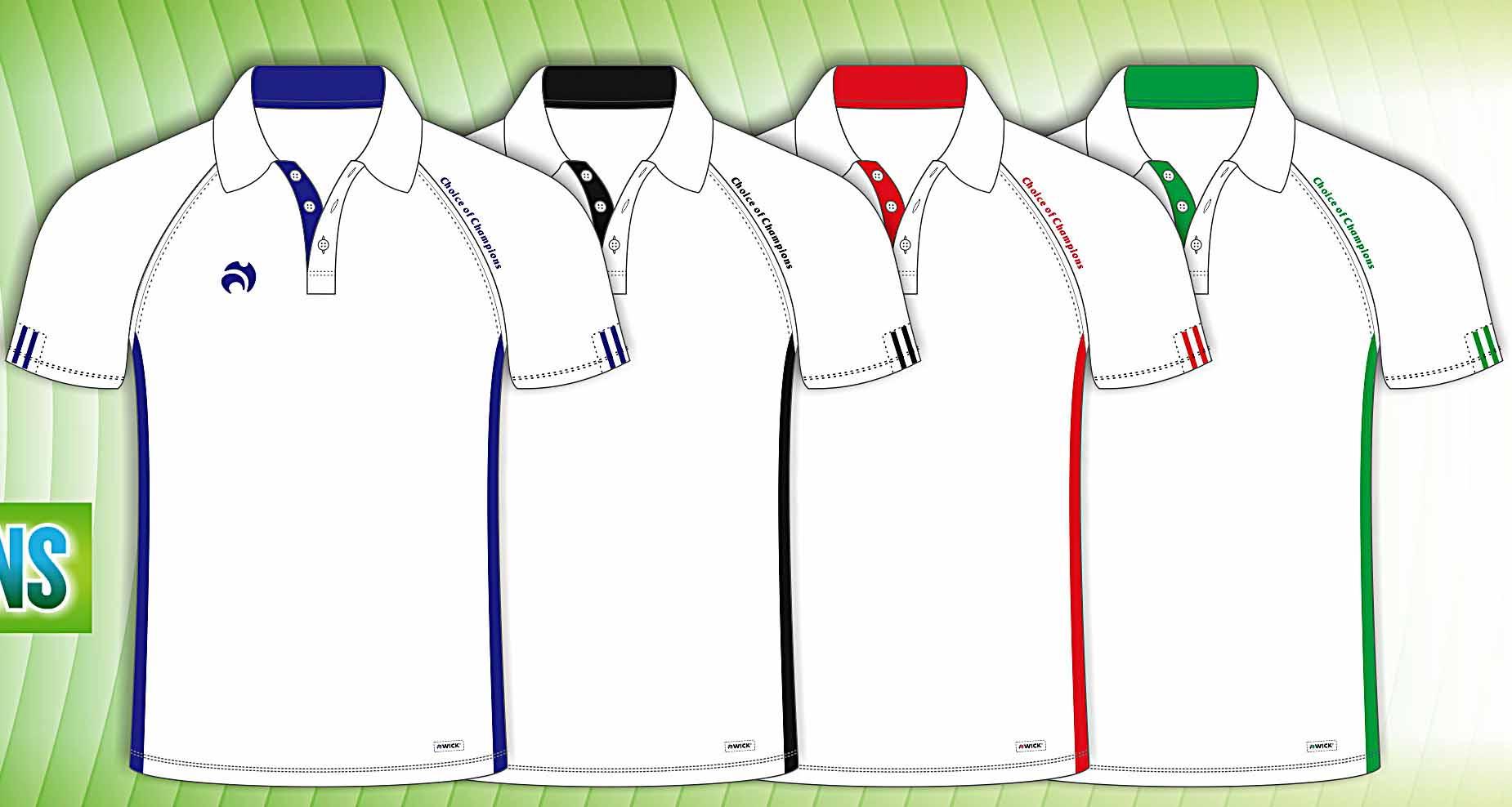 78511d25 Henselite Choice of Champions Polo Shirt Black/Electric Blue Trim